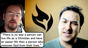 Is an Atheist's Life Easier than a Christian's?