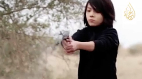 ISIS Uses Child Jihadi to Execute Two Men (Uncensored Video)